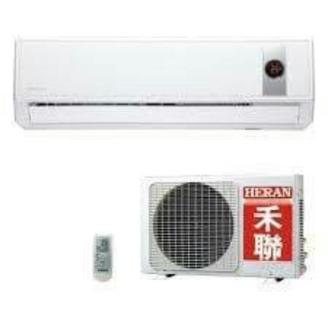 HERAN 禾聯 HERAN 單冷 定頻 一對一分離式冷氣 1~5坪用 HI-23G / HO-232*瑞奇精選高CP值分離式冷氣*(全台配送)