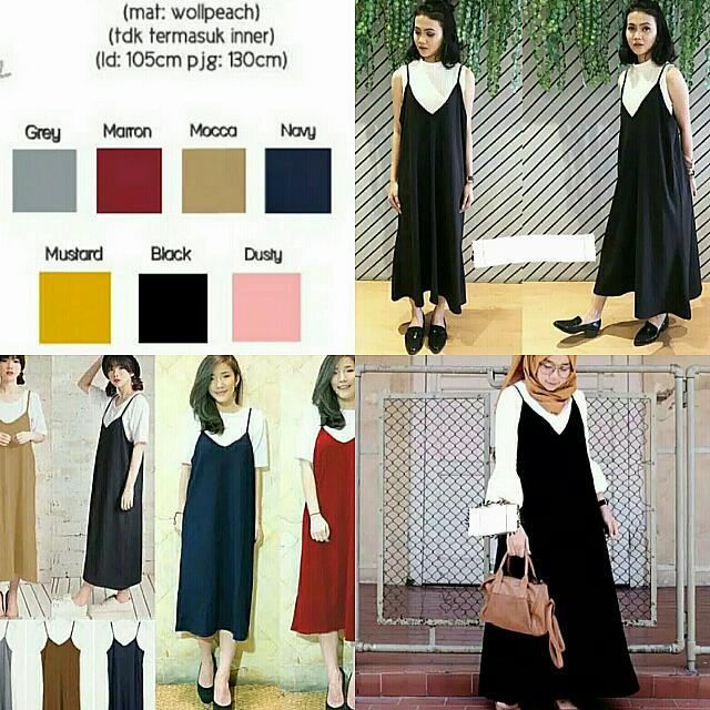 HFG-749 - Dress/Maxi/Terusan/Outer/Baju/Pakaian Wanita