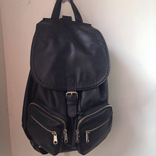 H&M Divided leather Backpack