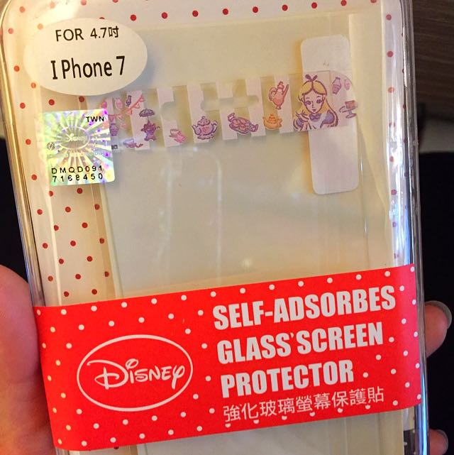 💗免運💗I Phone 7 6s 6 愛莉絲 強化螢幕保護貼