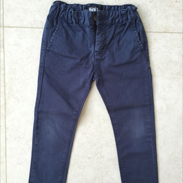INDIE KIDS BOYS CHINO PANTS SIZE 4
