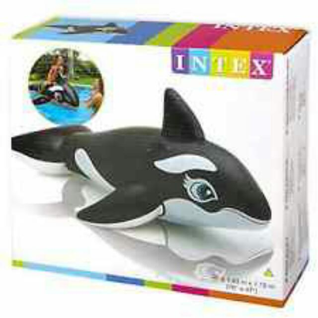 Intex Whale Ride-On Pool Float