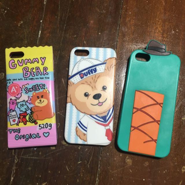 Iphone 5 5s se 殼 小熊 泰瑞
