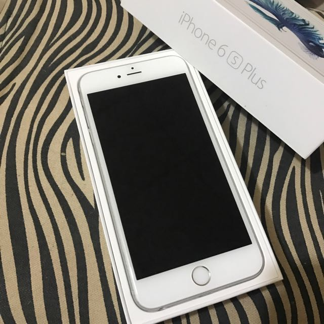 iPhone 6s Plus 16g 銀 全新整新機未使用
