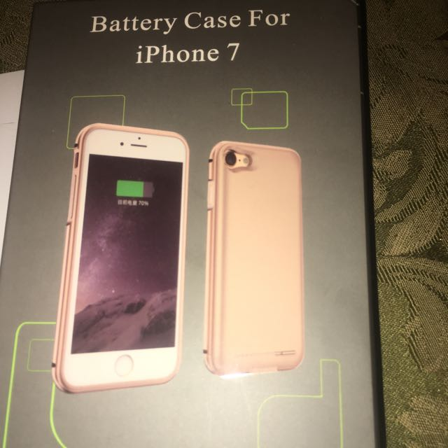 iPhone 7 Charging Phone Case