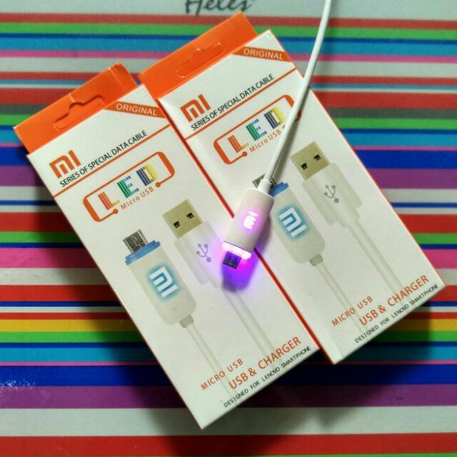 Kabel Data Usb Logo LED