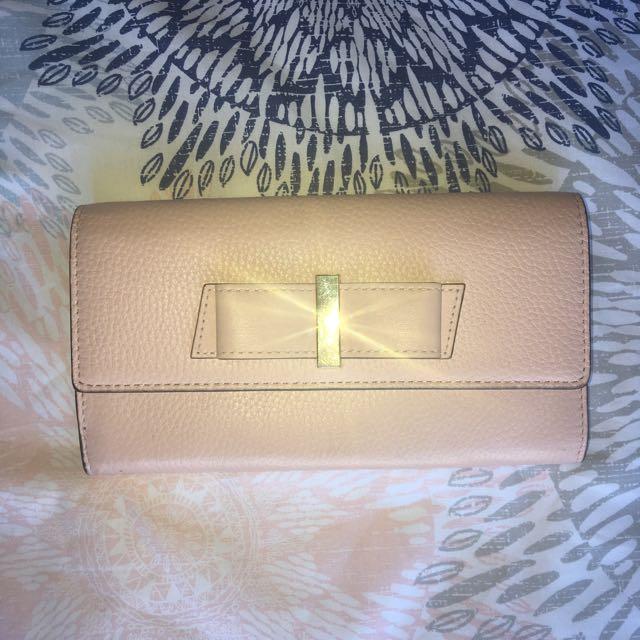 Kate Spade Pink Purse Wallet Bag