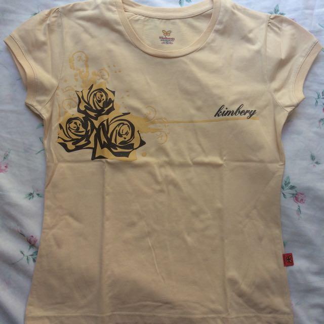 Kimbery Cream Rose Shirt