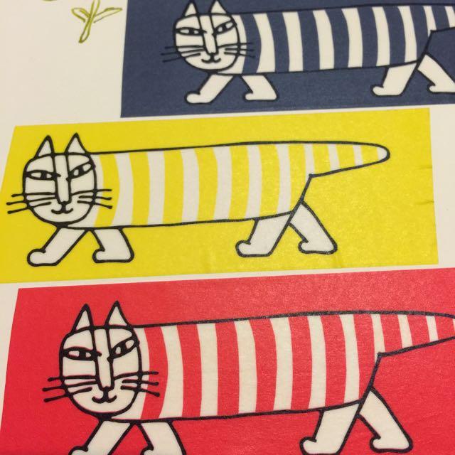 紙膠帶分裝-北歐瑞典lisa larson 紙膠帶 六款合售各一單50cm