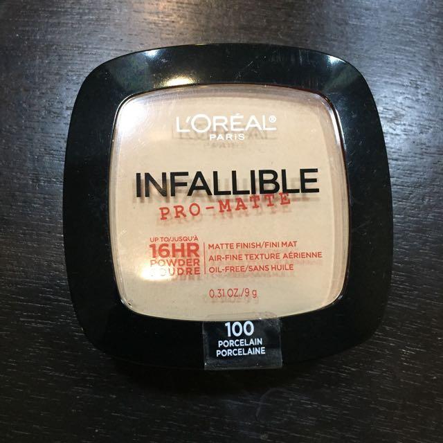 L'Oreal Infallible Pro-matte 16HR Powder