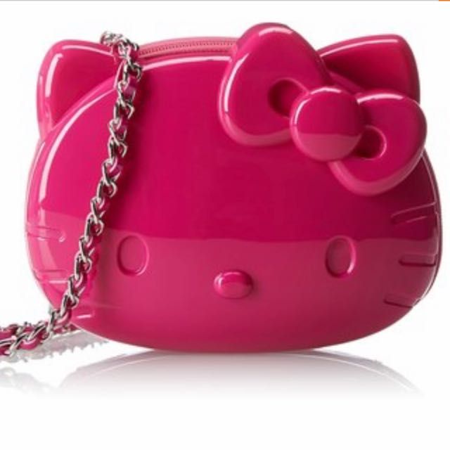 Loungefly HelloKitty Pink 3D Moulded Cross Body 212e5d70bc5e3