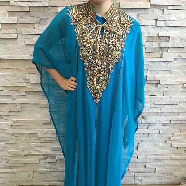 Luxurious Embellished Kaftan