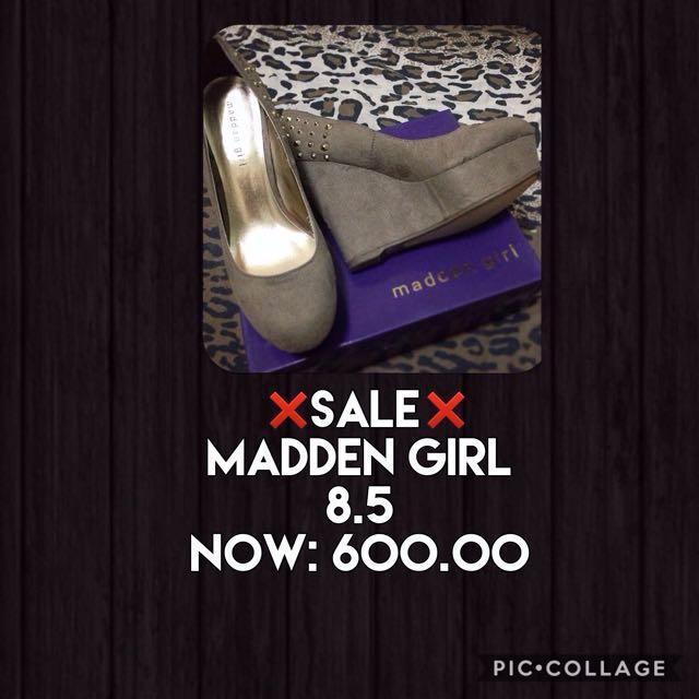 Madden Girl Wedge
