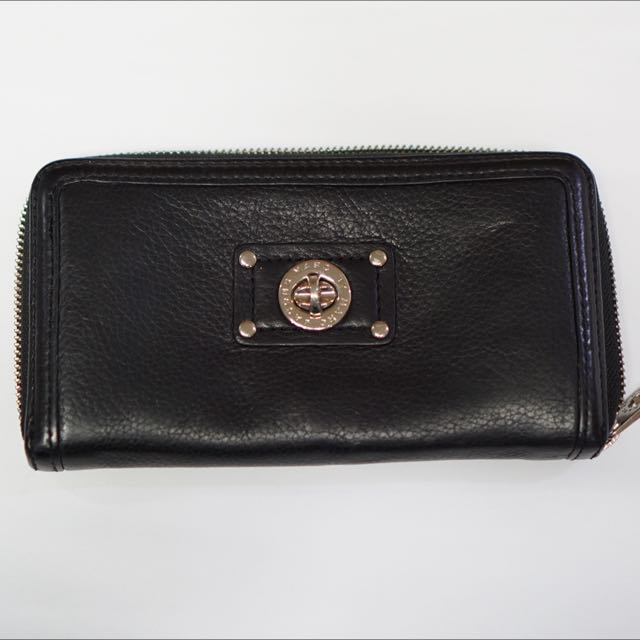Authentic Marc By Marc Jacobs Long Zip Wallet