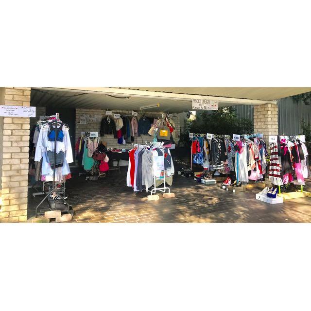 Massive Clothes Sale Sunday 26th!