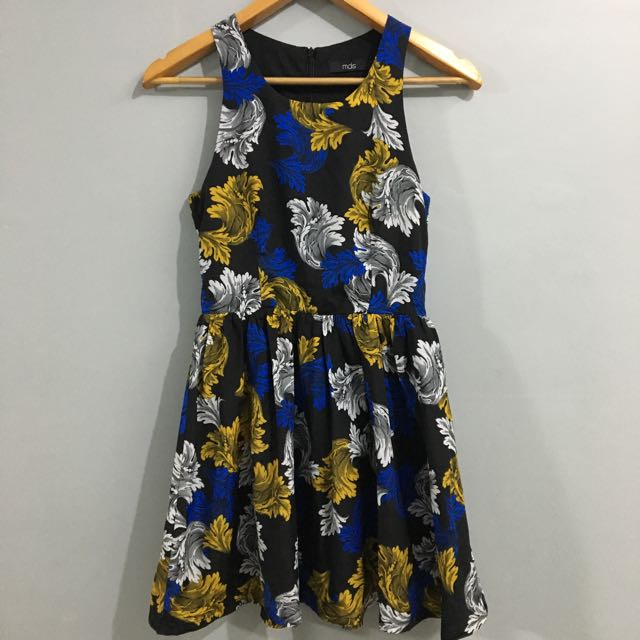 MDS Collection Printed Dress