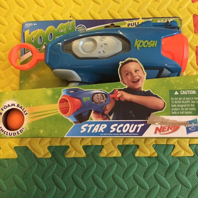Nerf Koosh Star Shooter