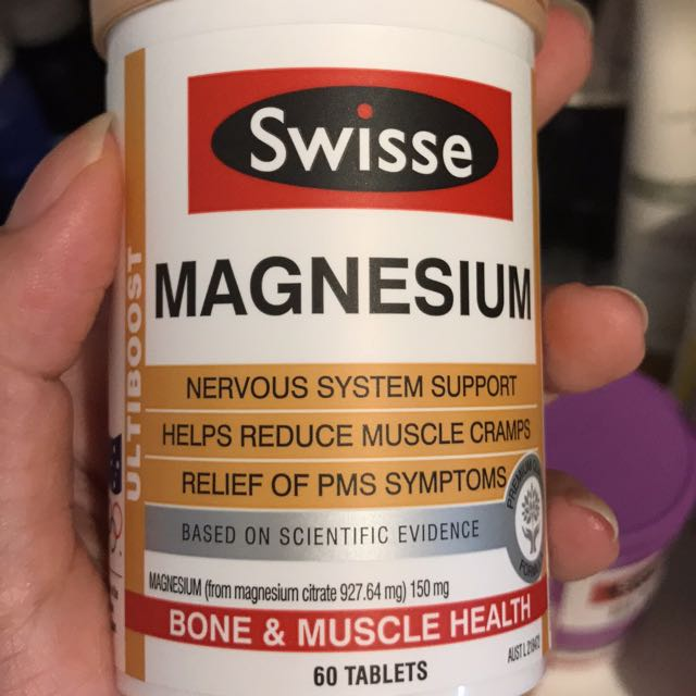 New Swisse Magnesium 60 Tab