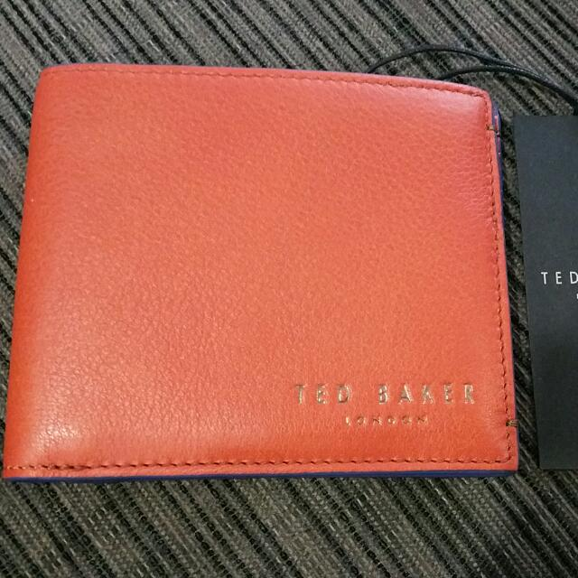 782fdfe8a BRAND NEW TED BAKER Leather Wallet - Original