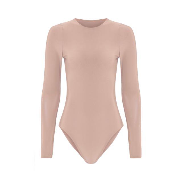 New w/ Tags Nude Bodysuit