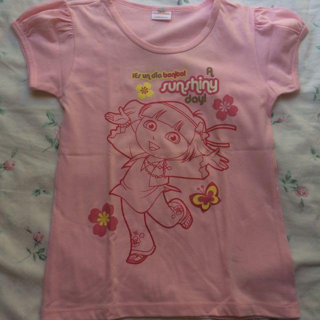 Nickelodeon Dora Pink Shirt