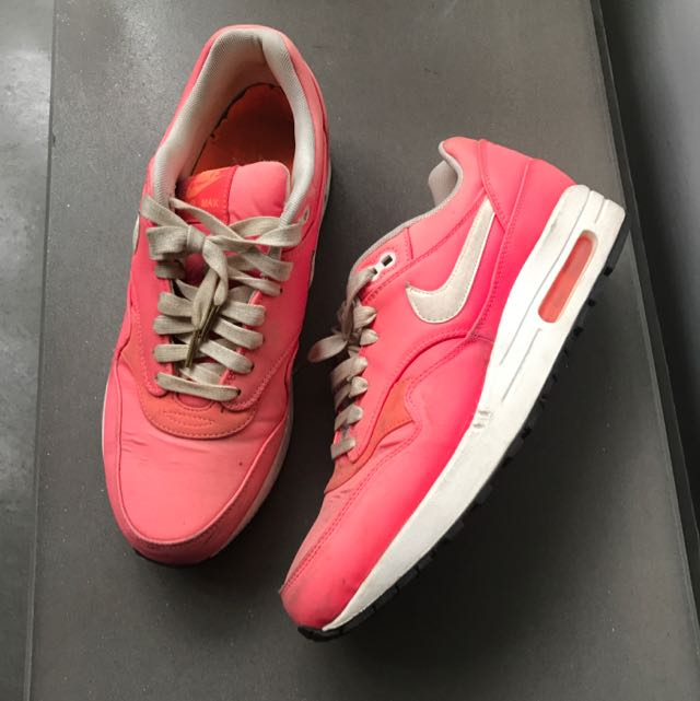 NIKE AIR MAX BRIGHT PINK OMBRE MEN'S US 9