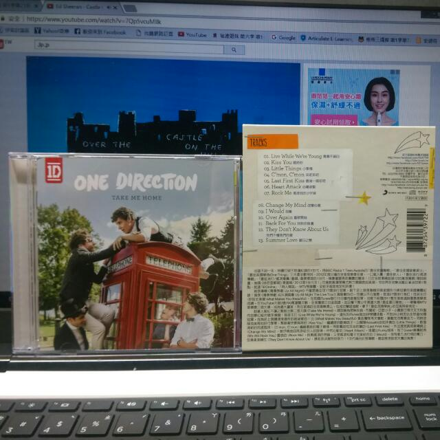 One Direction一世代 Take Me Home