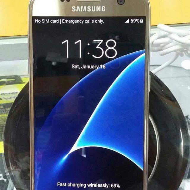 Original Samsung Galaxy S7 dual sim 32gb factory unlocked openline