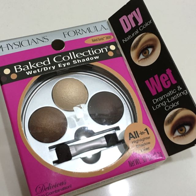 0c9f3a72667ed Physicians Formula Baked Collection Wet   Dry Eyeshadow Baked Sands