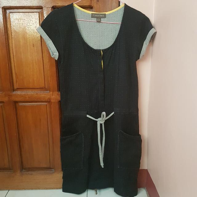 Plains & Prints Casual Dress