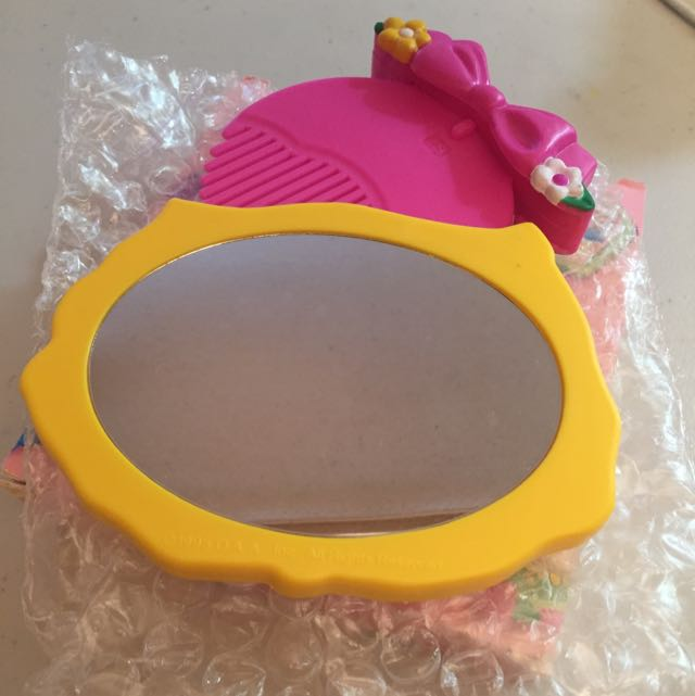 Portable Comb And Mirror