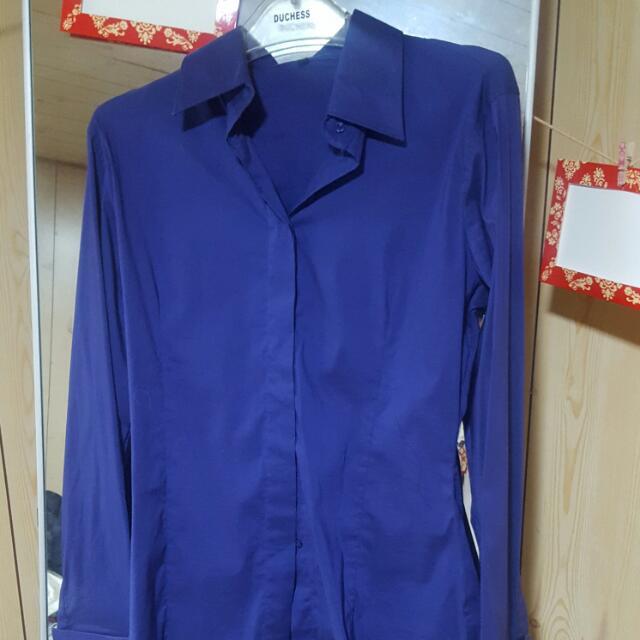Purple Business Shirt