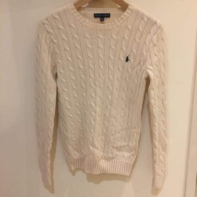 Ralph Lauren 米白色毛衣