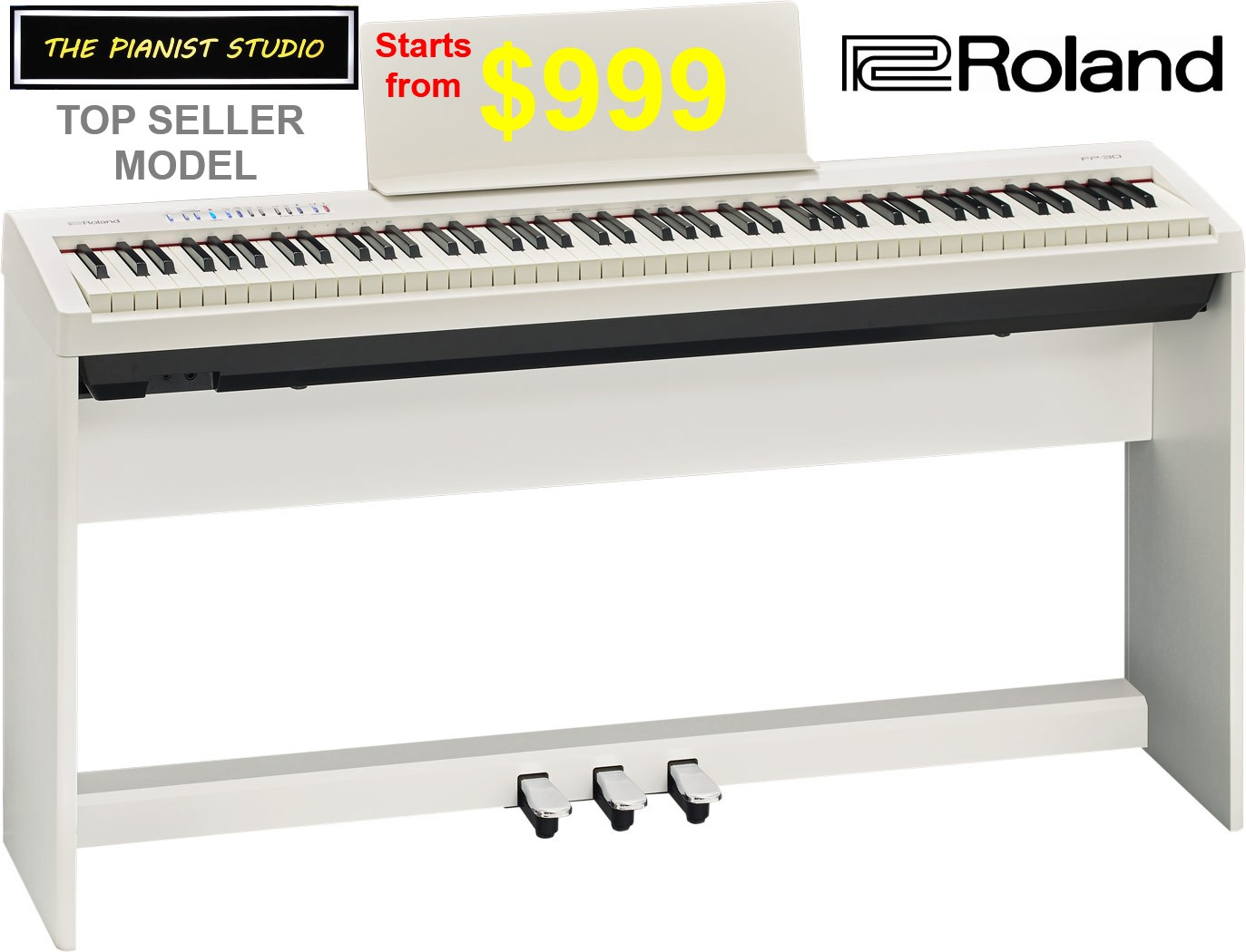 Roland Fp 30 Digital Piano Singapore Sale The Pianist Studio Music Media Music Instruments On Carousell
