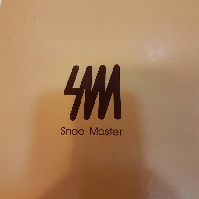 Shoe Master 氣質小牛皮純白內增高鞋