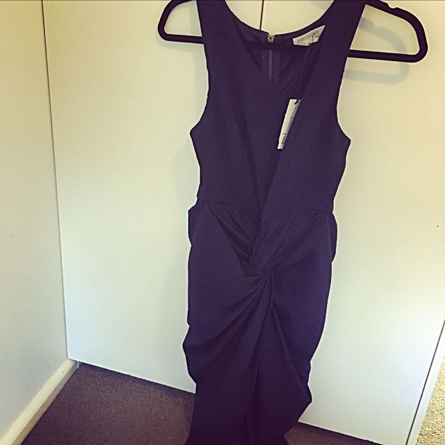 Size 10, Navy Midi Dress