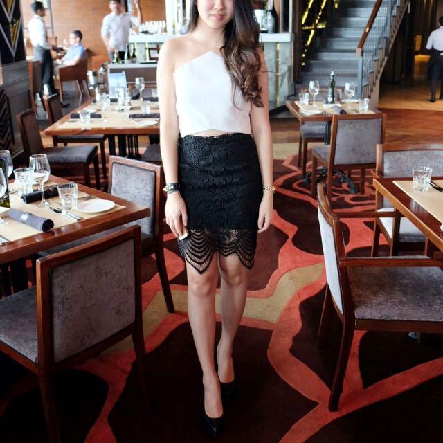 Skirt full Lace
