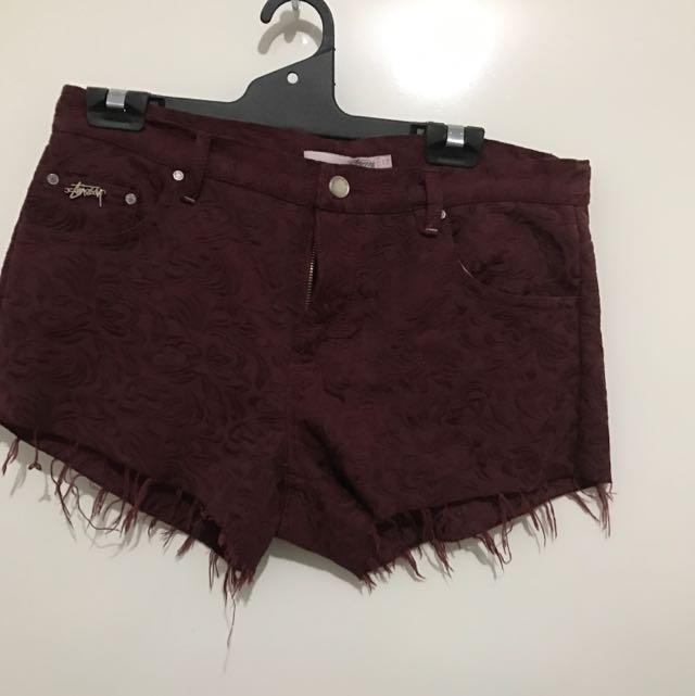 Stussy Shorts Size 12