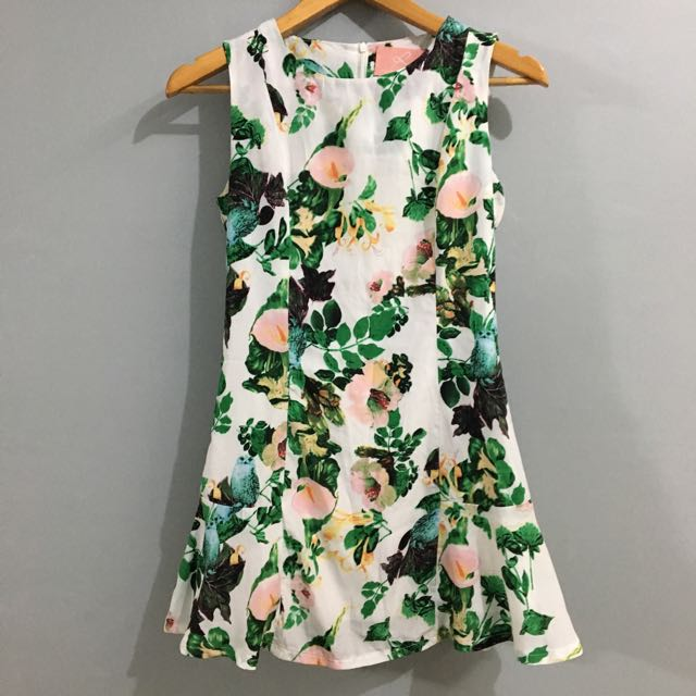 Summer Printed Short Dress (Ministry Of Retail)