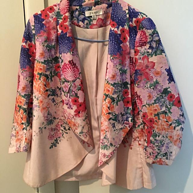 Temp: Floral Cardigan