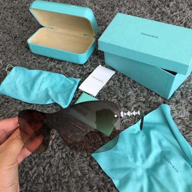 Tiffany & Co TF-3028 B Enchant Crystal Sunglasses