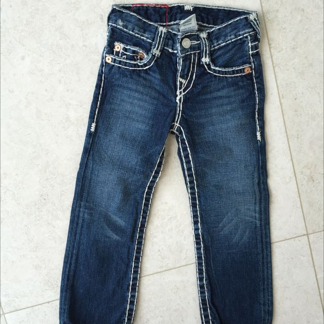TRUE RELIGION JEANS KIDS BOYS SIZE 3-4