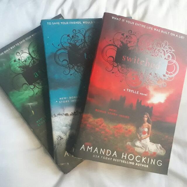Trylle Trilogy By Amanda Hocking