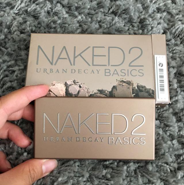 Urban Decay Naked 2 Basics