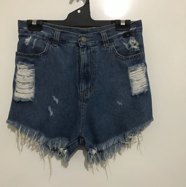 Usual Suspects High Waisted Shorts Size 10