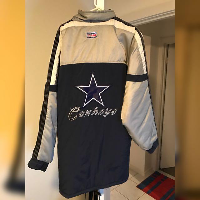 promo code 86f02 7c544 Vintage Dallas Cowboys Starter Pro Line Jacket NFL, Men's ...