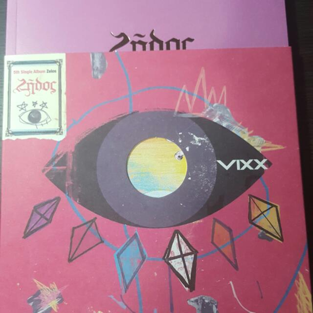 Vixx Zelos Album And Poster