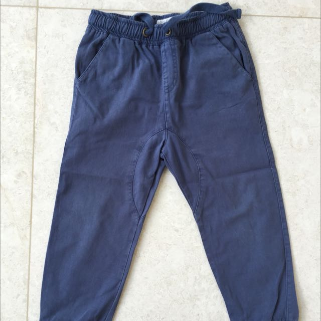 WAYNE JNR BOYS NAVY PANTS SIZE 4