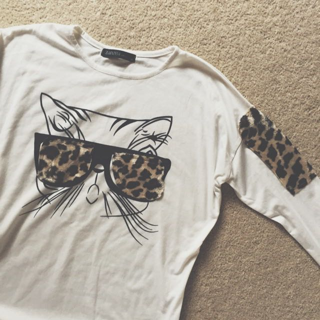 Zanzea Long Sleeve Cat