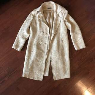 Ivory Jacket, Made In Italy
